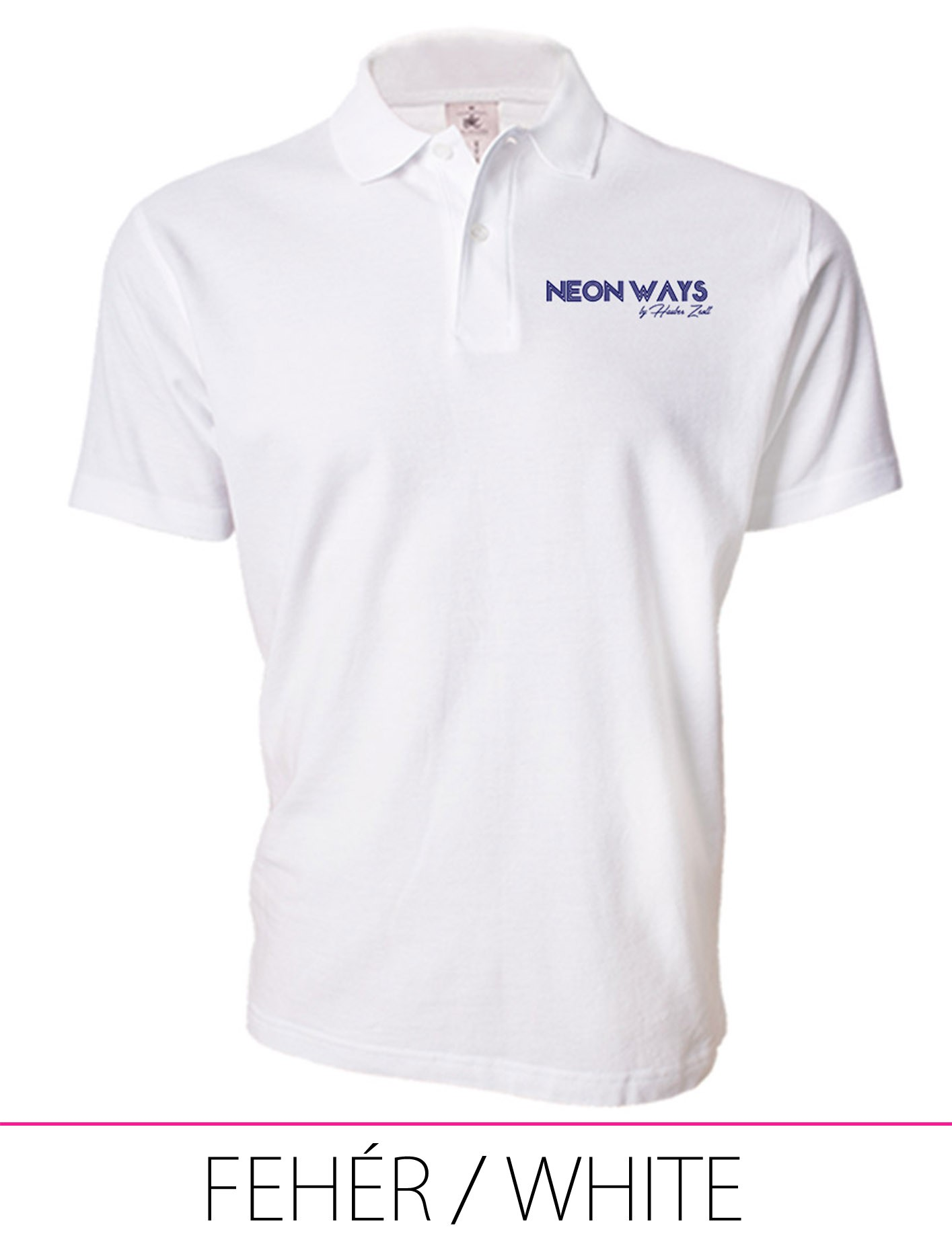 MEN POLO WHITE
