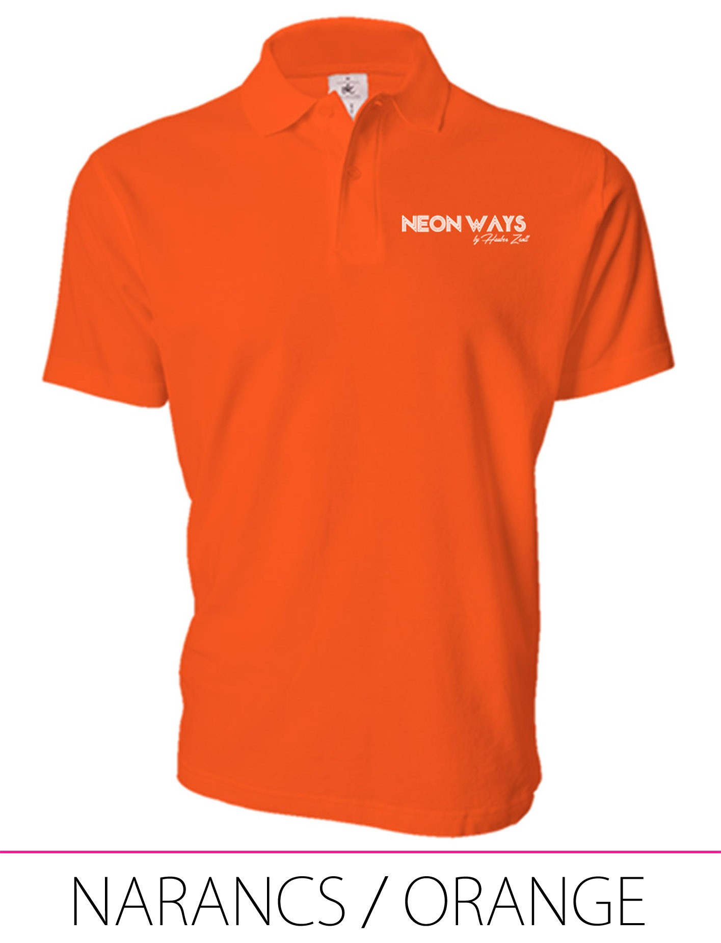 MEN POLO ORANGE