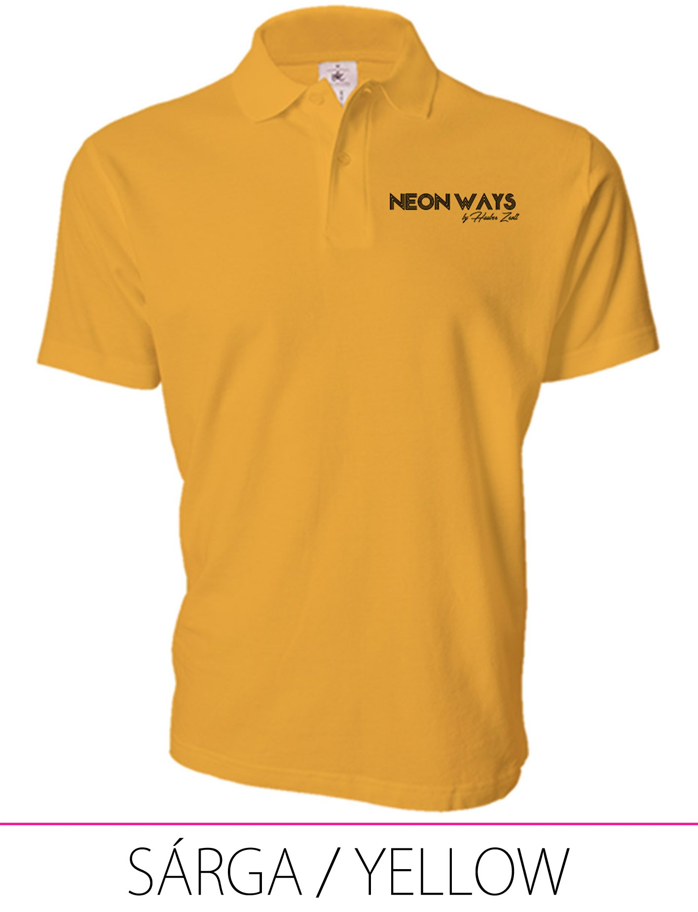 MEN POLO YELLOW