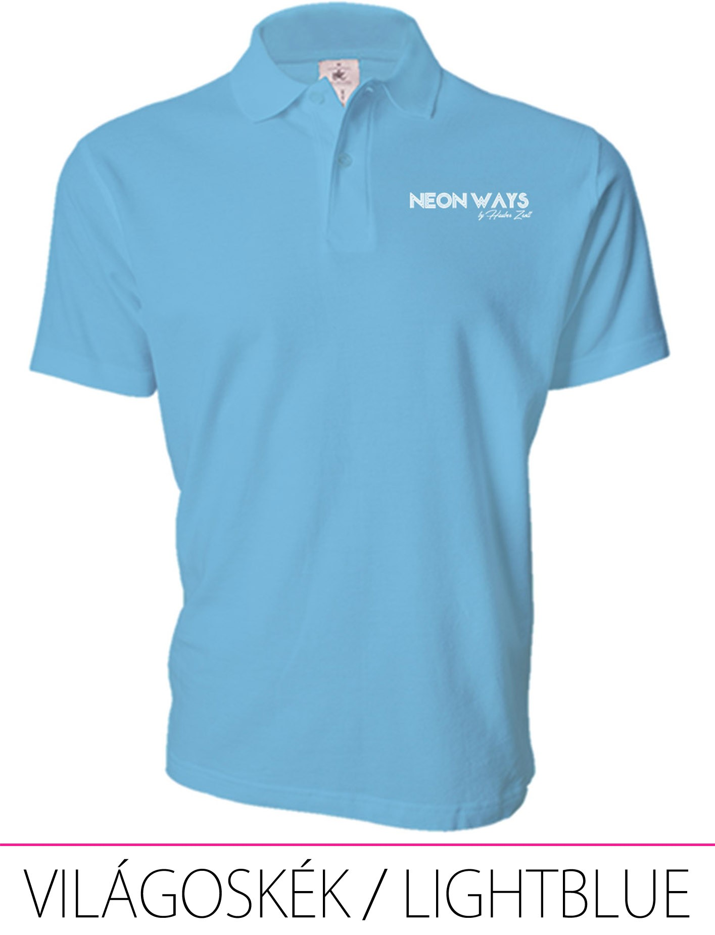 MEN POLO LIGHT BLUE