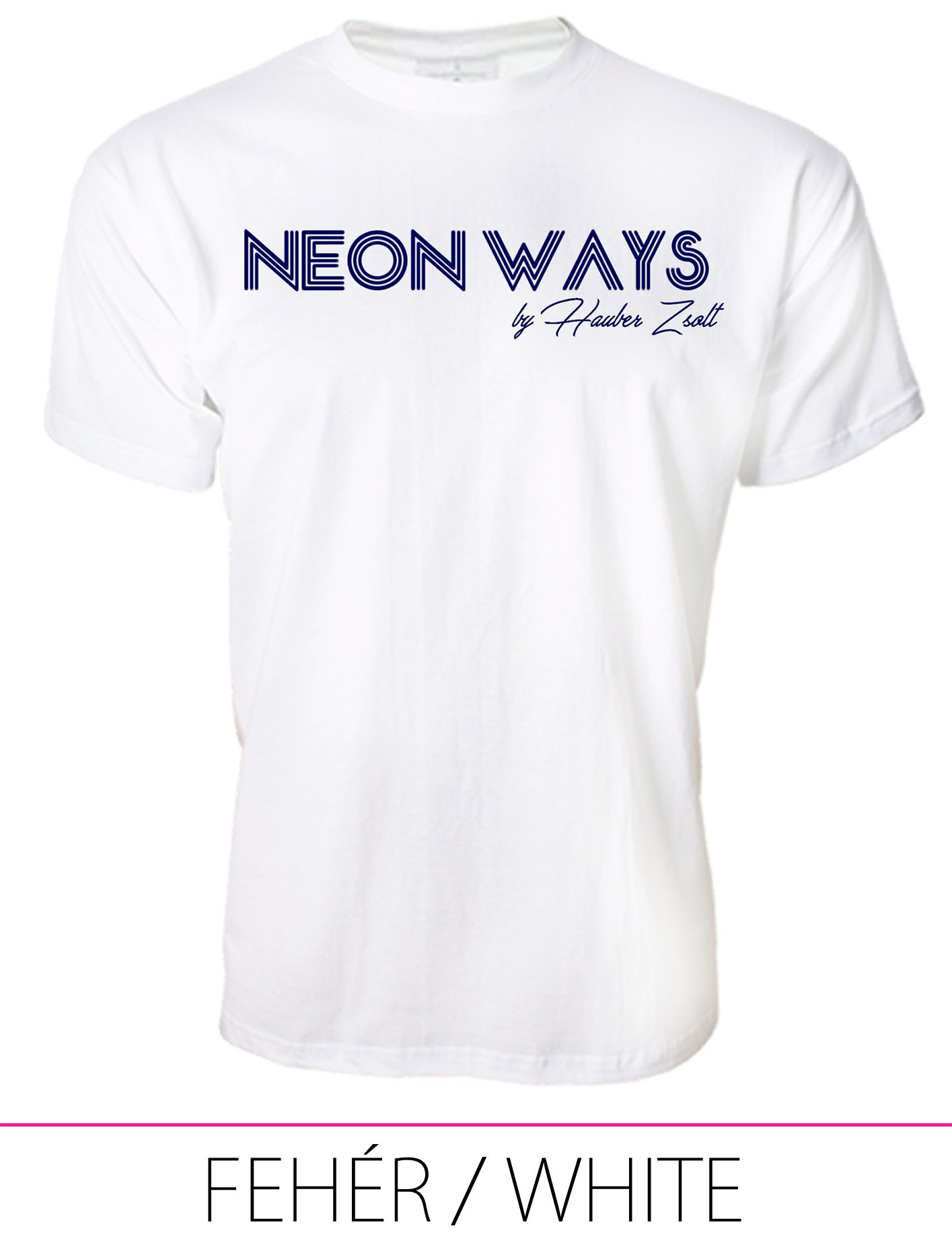 MEN PREMIUM CREW NECK T-SHIRT WHITE