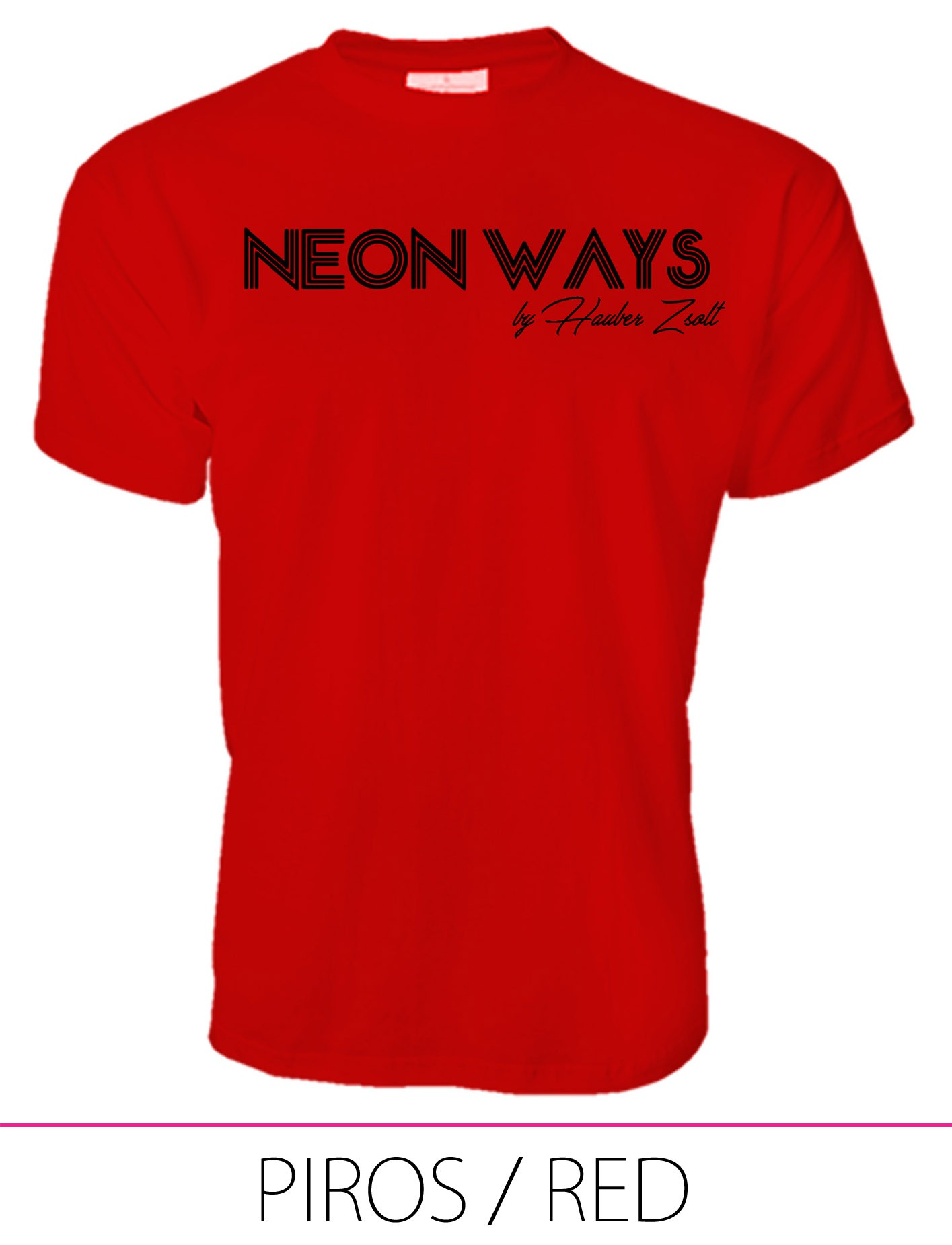 MEN PREMIUM CREW NECK T-SHIRT RED