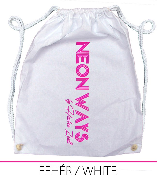 BACKPACK NEON WAYS WHITE