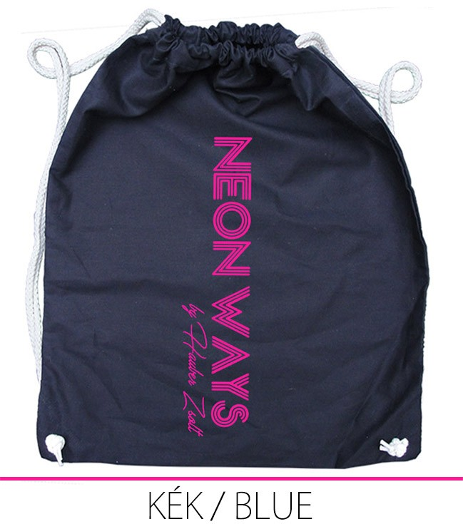 BACKPACK NEON WAYS BLUE