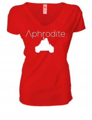 LADIES PREMIUM V NECK T-SHIRT APHRODITE