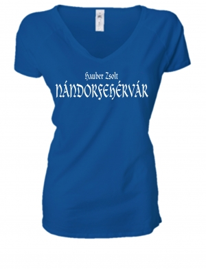 LADIES PREMIUM V NECK T-SHIRT NÁNDORFEHÉRVÁR