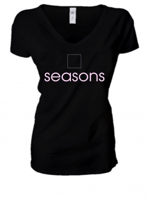 LADIES PREMIUM V NECK T-SHIRT SEASONS