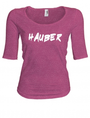 LADIES PREMIUM DEEP CUT T-SHIRT HAUBER