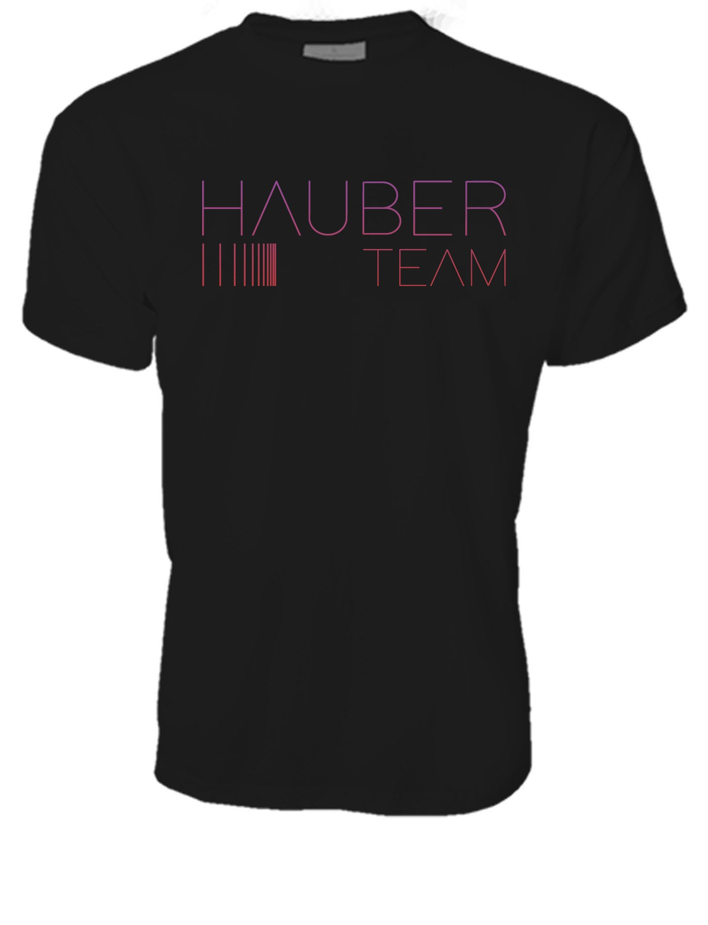 MEN CREW NECK T-SHIRT / HAUBER TEAM